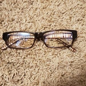 Paul Frank a is for action Brown Eyeglasses